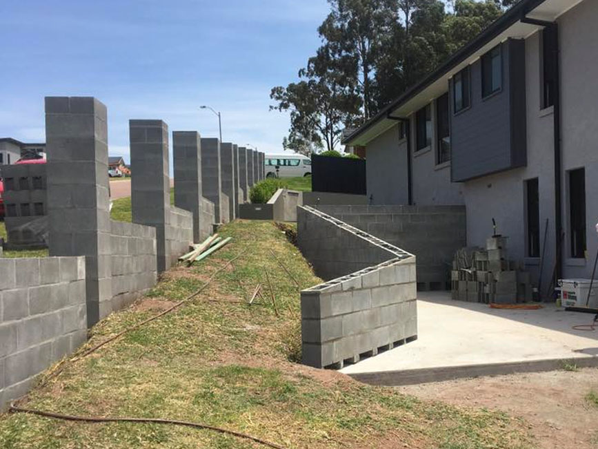 Retaining Walls & Footings